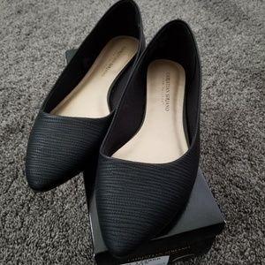 Christian Siriano GIGI Flats Black Size 8.5